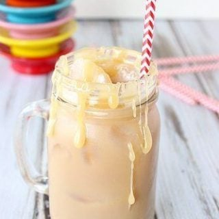 Iced Salted Caramel Latte