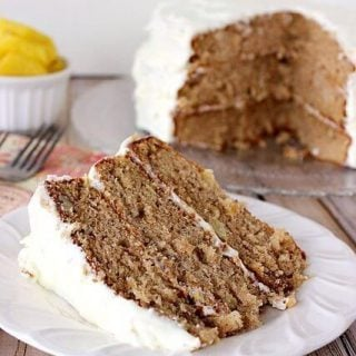 Old-Fashioned Hummingbird Cake