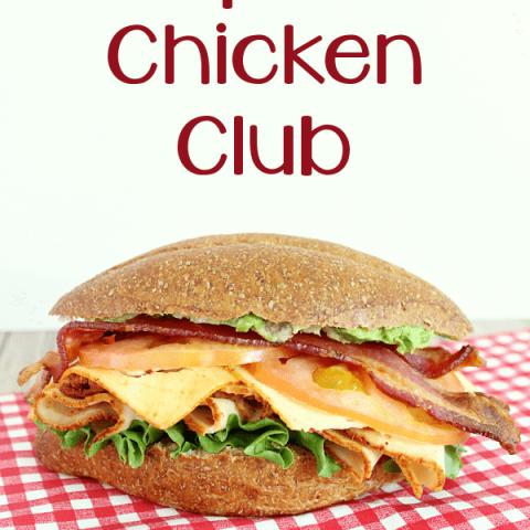 Chipotle Chicken Club
