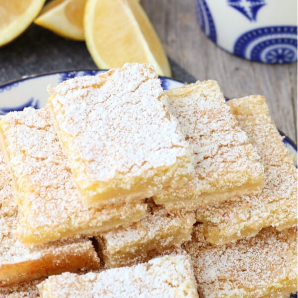 The BEST Lemon Bars EVER