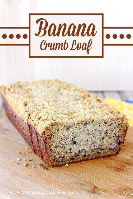 Banana Crumb Loaf