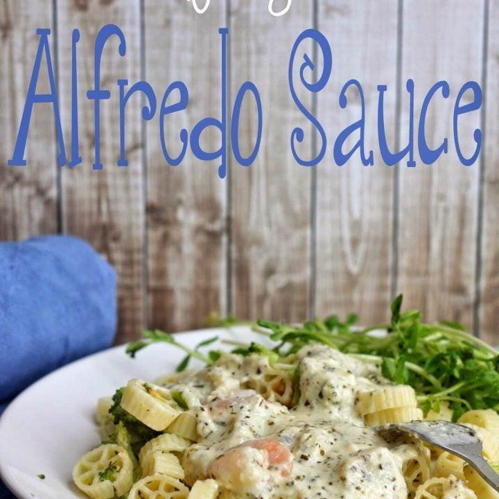 Better for you Alfredo Sauce Recipe