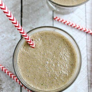 Chocolate Coconut Green Smoothie