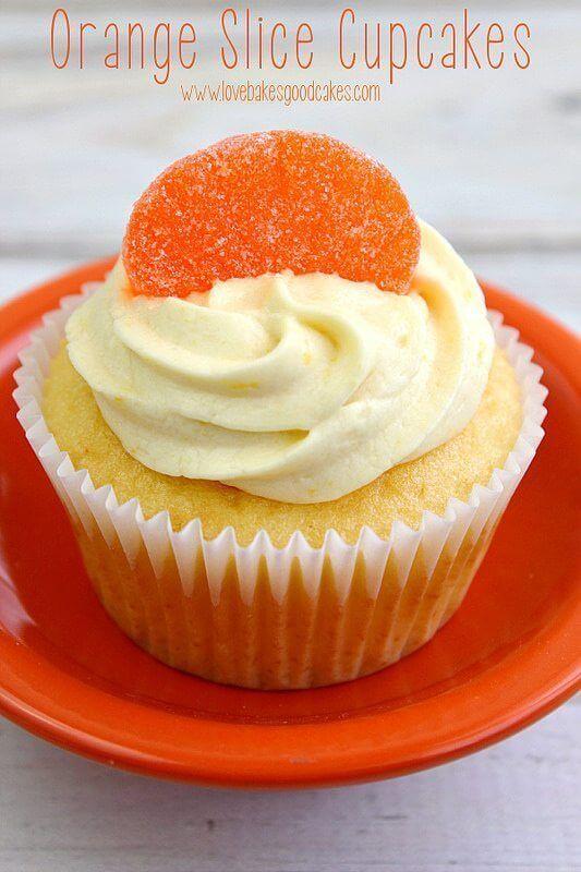 Orange Slice Cupcakes Love Bakes Good Cakes