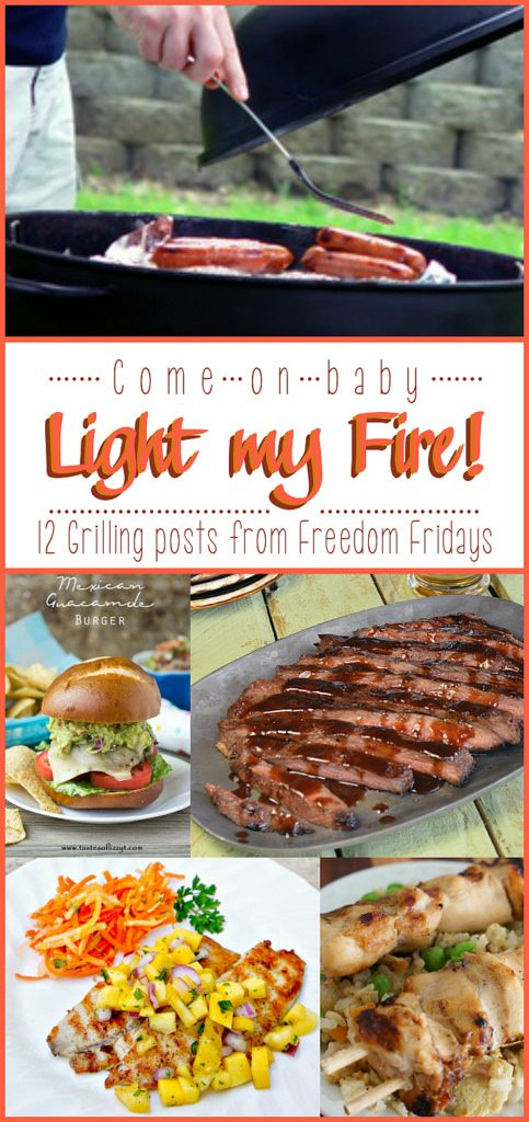 12 Grilling posts shared on Freedom Fridays