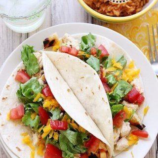 Margarita Chicken Tacos