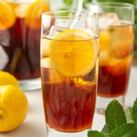 Perfect Southern Sweet Iced Tea Never Bitter Love Bakes Good Cakes