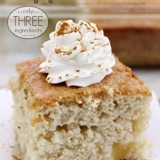 Easy Apple Cake - Only 3  ;Ingredients!