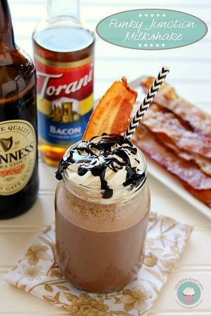 Funky Junction Milkshake #baconmonth #putsomepiginit