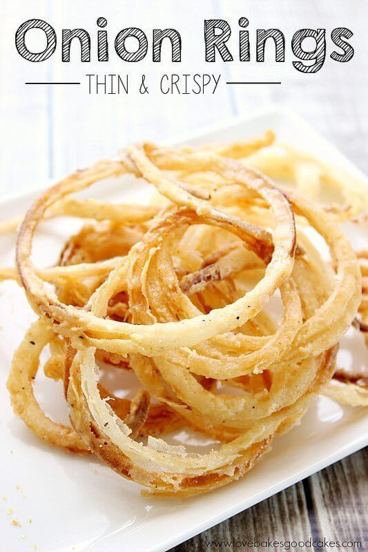 Onion Rings – Thin and Crispy!