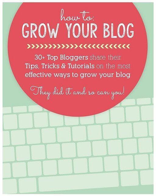 How To Grow Your Blog e-Book