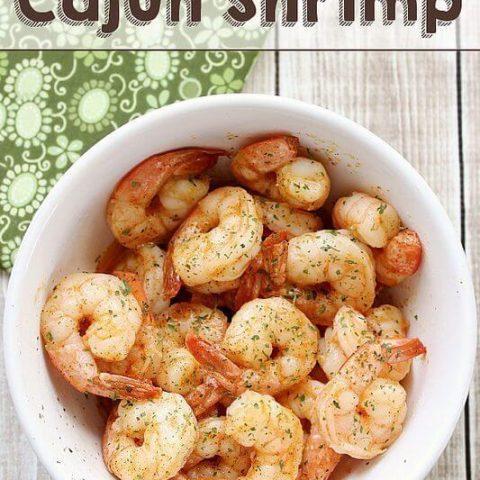 Quick and Easy Cajun Shrimp