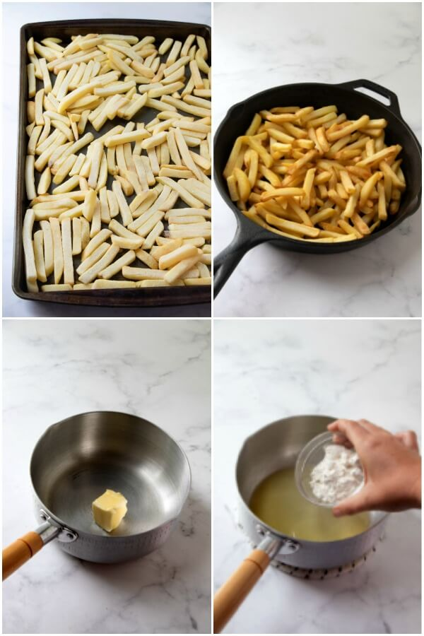 how to make cheesy fries sauce
