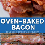 oven bacon pin collage
