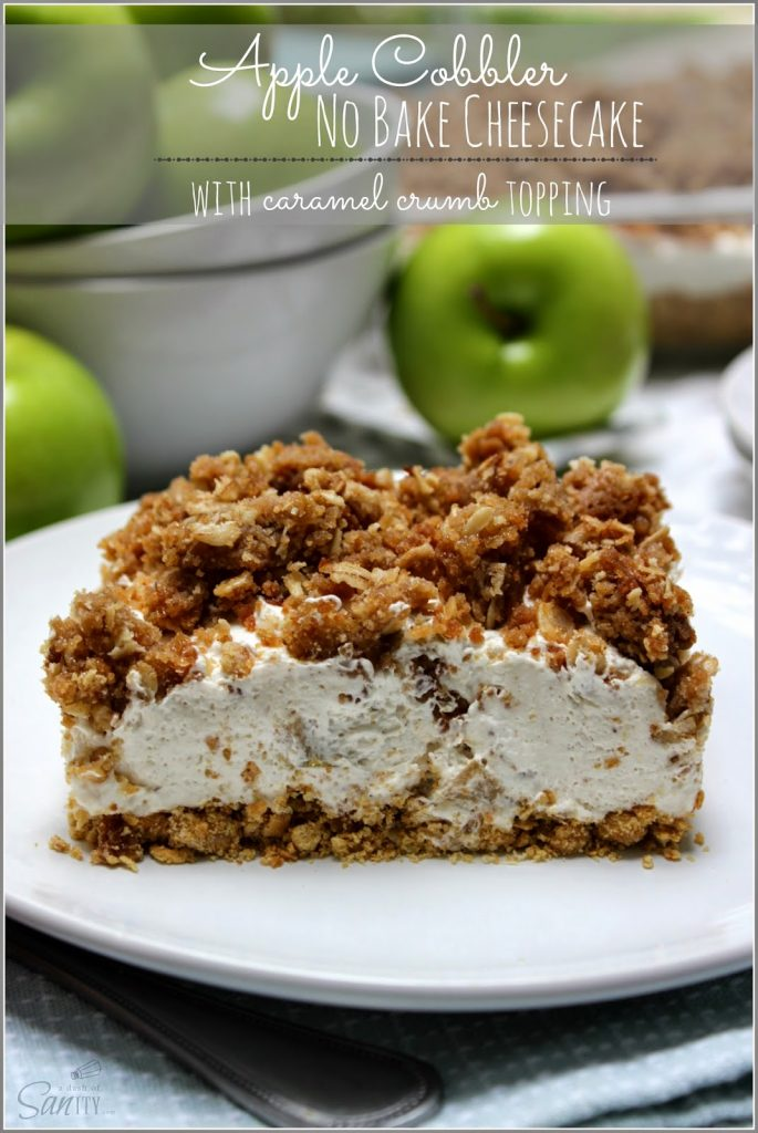Apple Cobbler Made With White Cake Mix