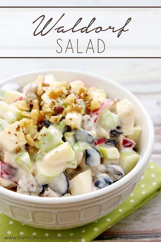 Waldorf Salad with California Walnuts!