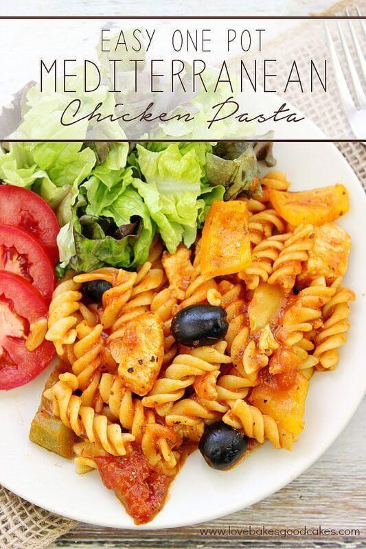 Easy One Pot Mediterranean Chicken Pasta with Smart & Final