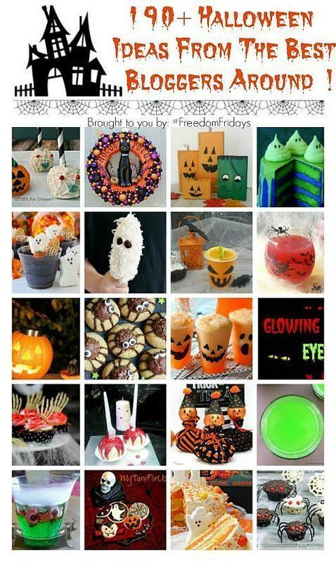 More than 190 Halloween Ideas From the Best Bloggers Around!