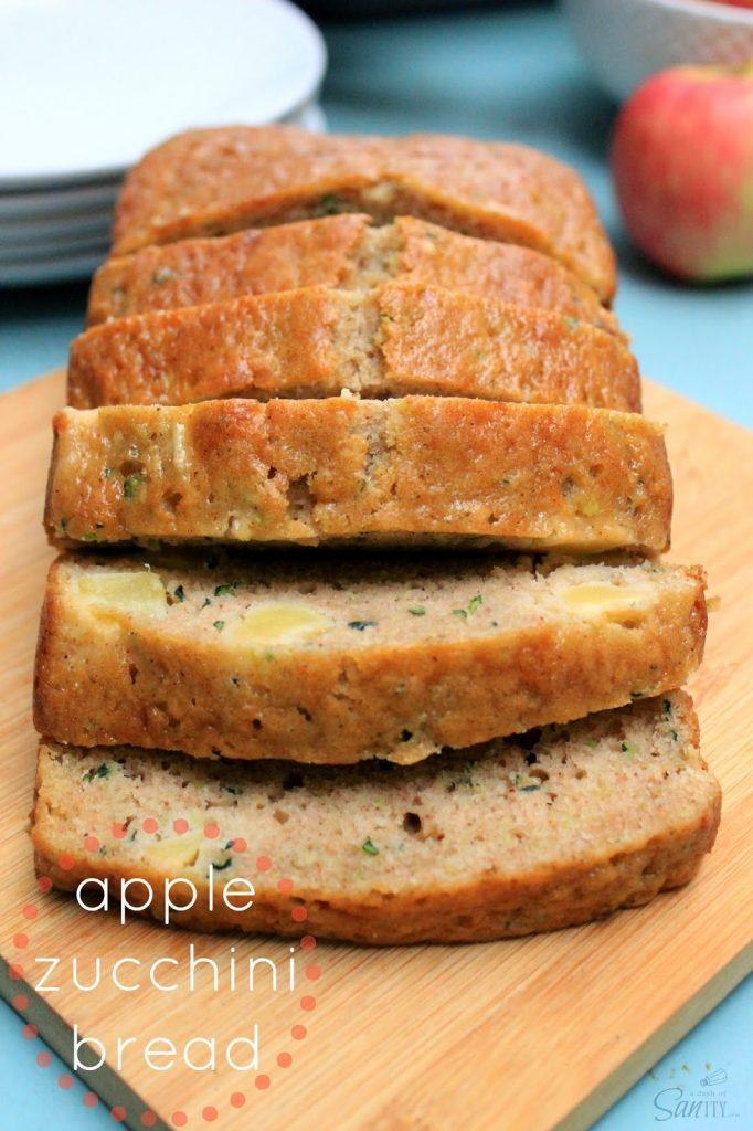 Apple Zucchini Bread