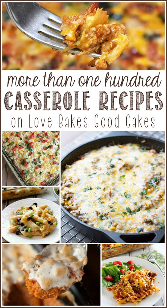 More than 100 Casserole Recipes
