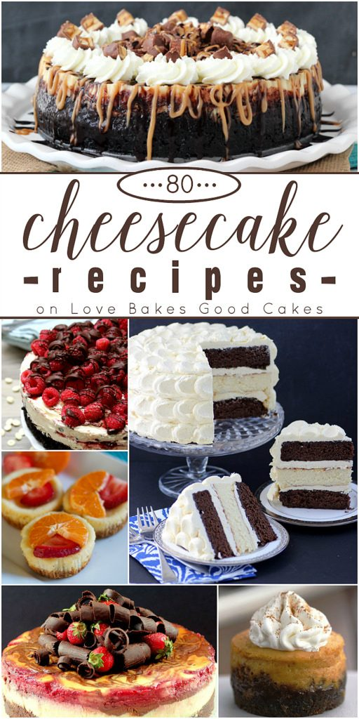 80 Cheesecake Recipes Round-Up