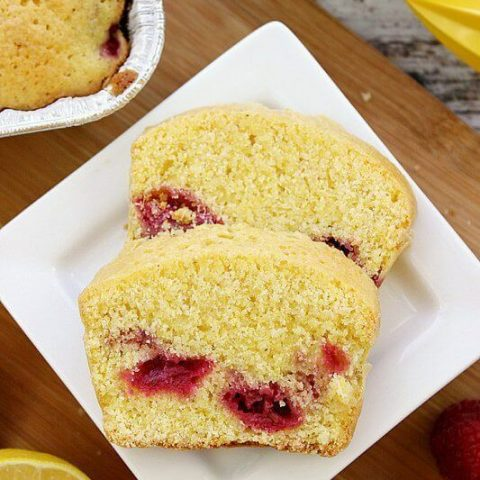 Dorie Greenspan's Cornmeal and Berry Cakes