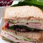 cran-apple turkey sandwich