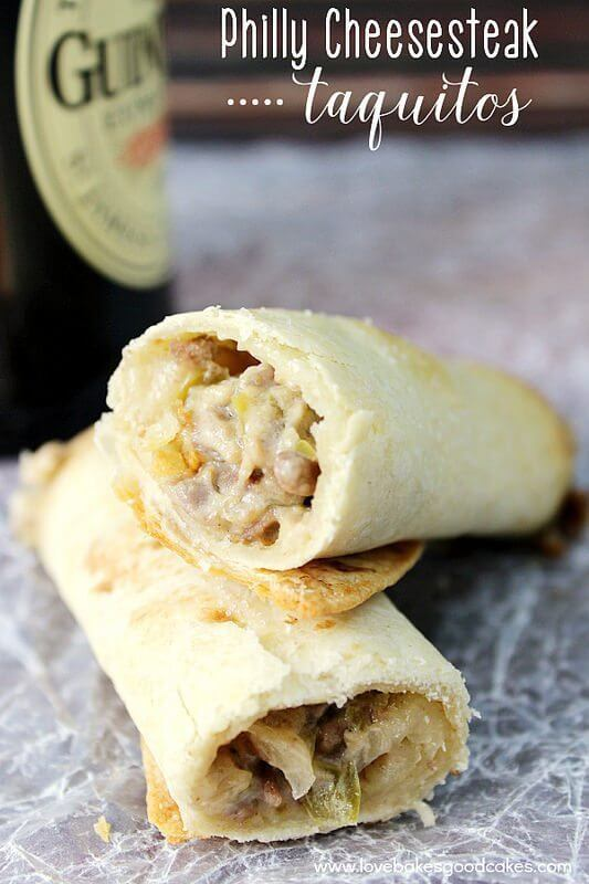 Philly Cheesesteak Taquitos and a GIVEAWAY!