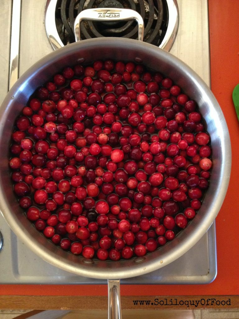 Cranberry Jam ~ www.soliloquyoffood.com