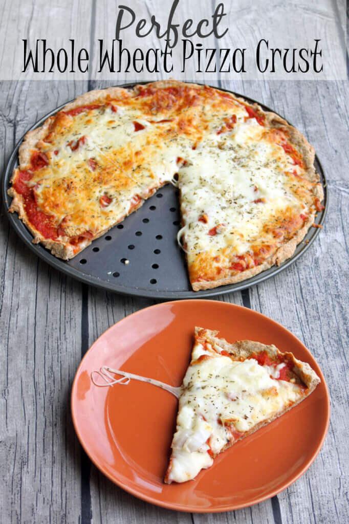 Whole Wheat Pizza Crust... the perfect recipe