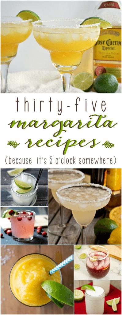 35 Margarita Recipes!
