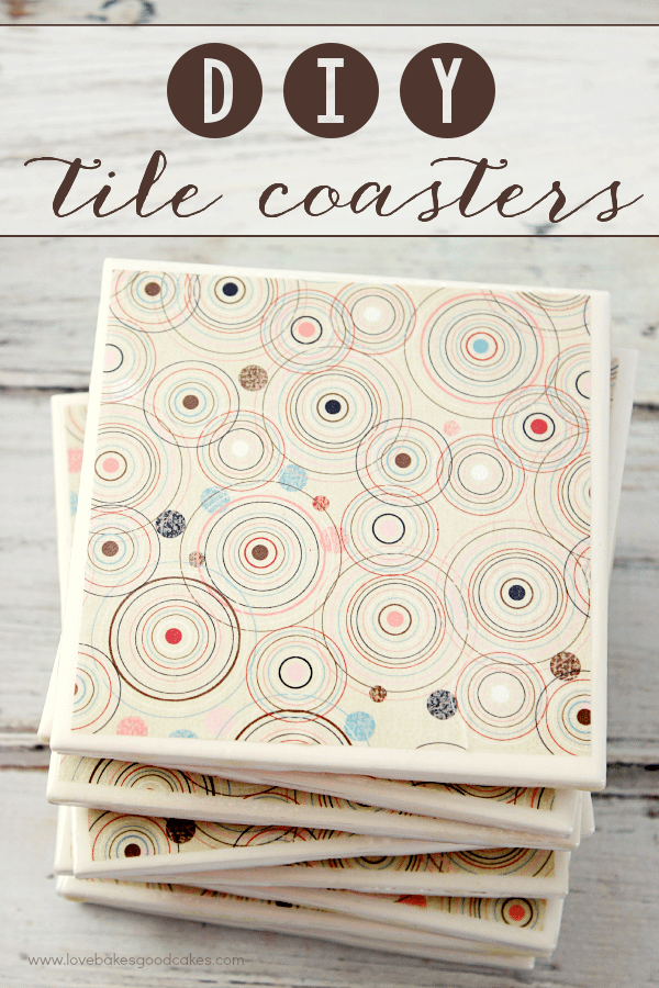 DIY Tile Coasters and Everyday Moments