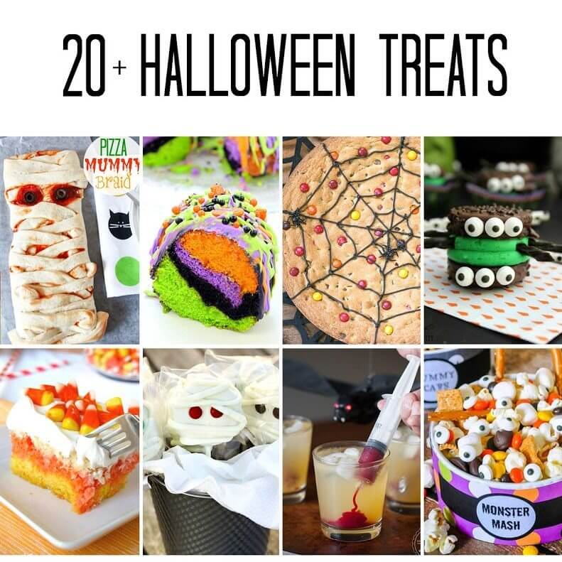 20+ Halloween Treats and Recipes!