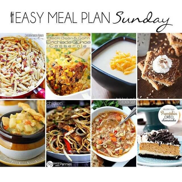 Easy Meal Plan #14