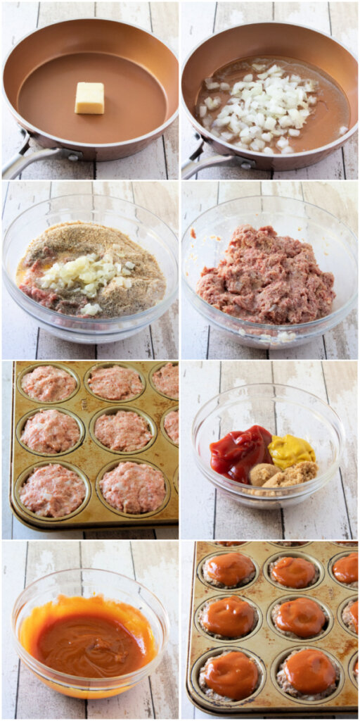 how to make meatloaf muffins