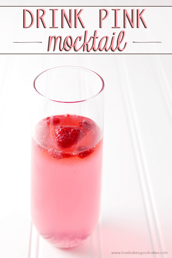 Drink Pink Mocktail