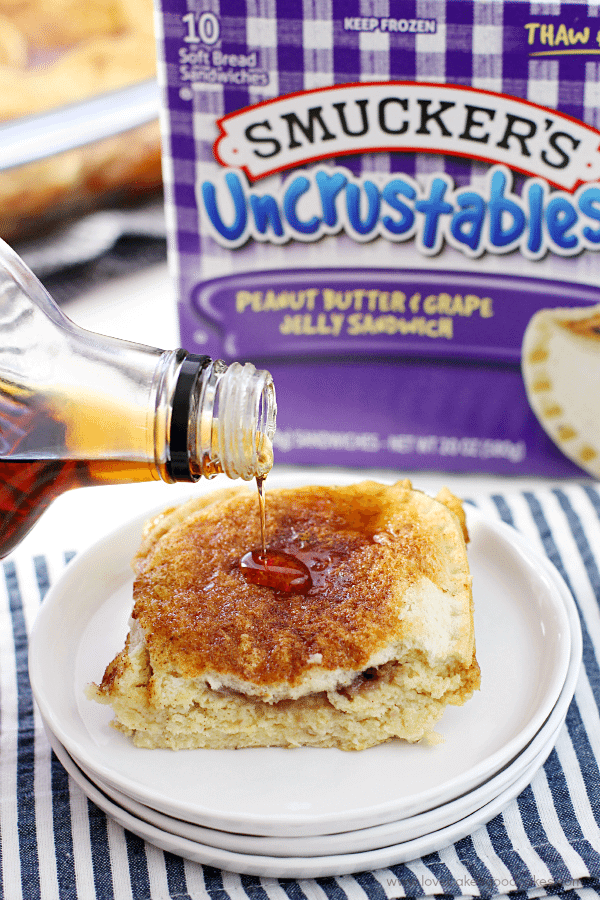 Uncrustables® Overnight French Toast