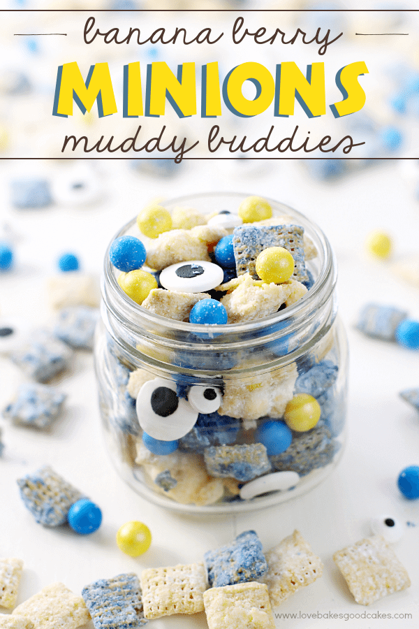 Banana Berry Minions Muddy Buddies