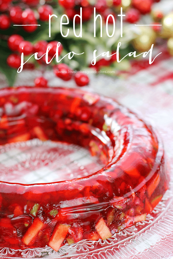 Red Hot Jello Salad