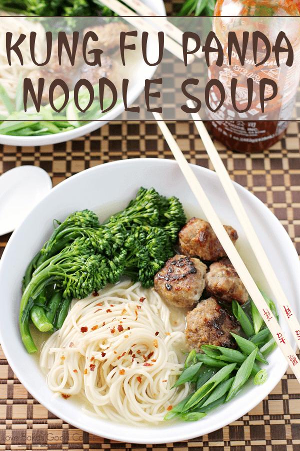 Kung Fu Panda Noodle Soup