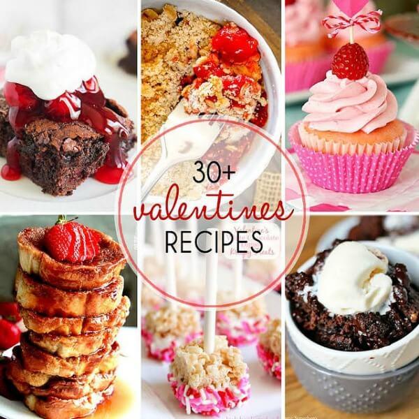 30+ Valentine's Recipes SQUARE
