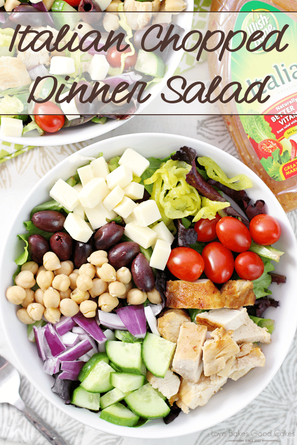 Italian Chopped Dinner Salad