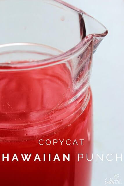 Copycat Hawaiian Punch