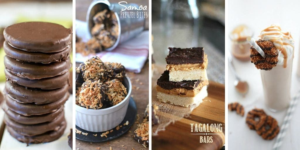 20+ Girl Scout Cookie Inspired Recipes