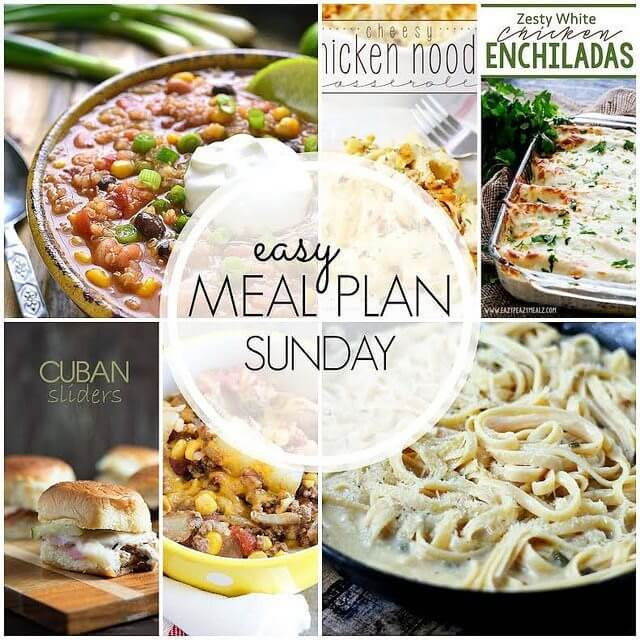 Easy Meal Plan #39