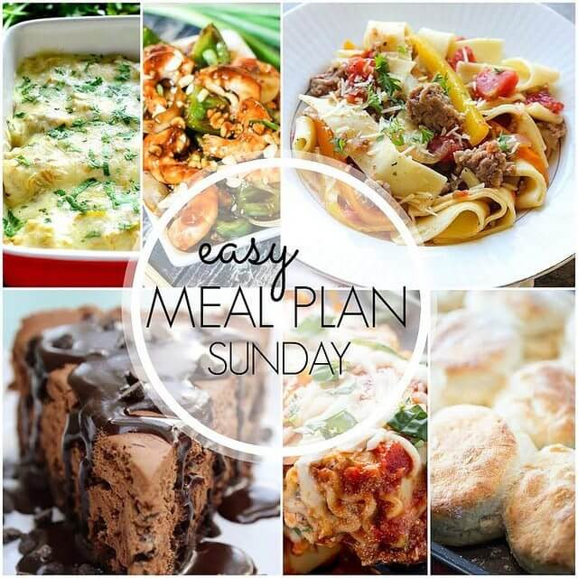 Easy Meal Plan #41