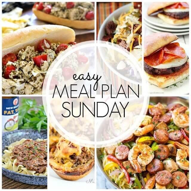 Easy Meal Plan Sunday {Week 57}