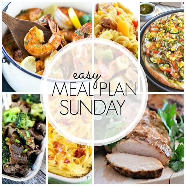 Easy Meal Plan Sunday Week 58