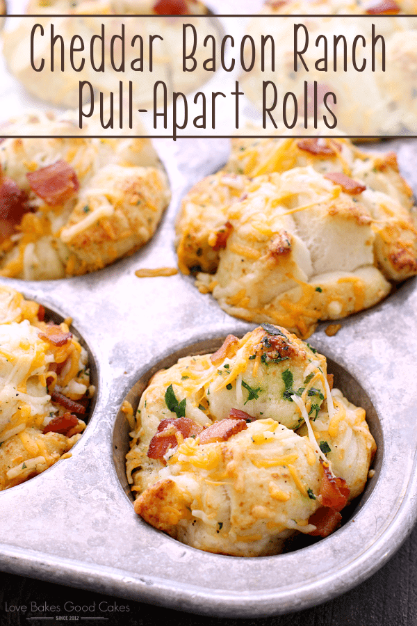 Cheddar Bacon Ranch Pull-Apart Rols