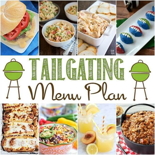 Tailgating Menu Plan